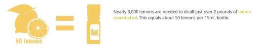 50 Lemons per 15ml